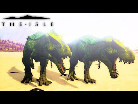 The Isle - TWO HYPO REX'S TAKE OVER, HYPERNDOCRIN REX FIGHTING & MORE ( Progression Gameplay )