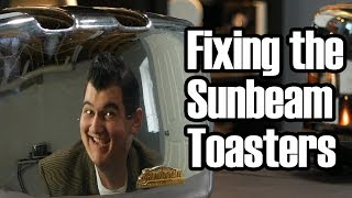 Sunbeam Radiant Control Toaster--Repair and Modernization