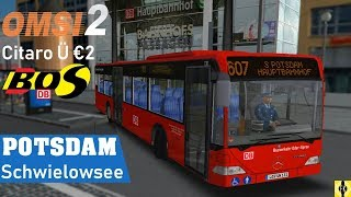 OMSI 2 [60 FPS] - POTSDAM-SCHWIELOWSEE im Citaro Ü - Let's Play Omsi 2 [#509]