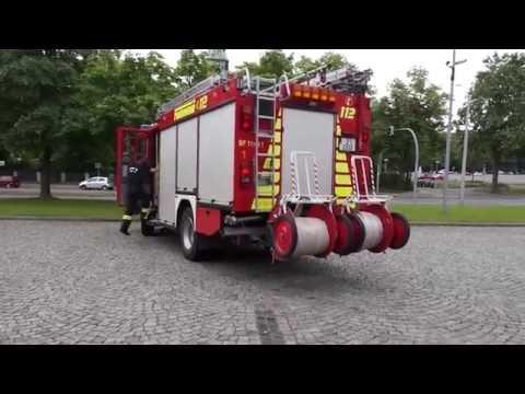 Die Arbeit als Feuerwehrmann in Zwickau