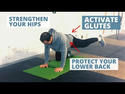 Gluteus Medius Exercise for Stronger Hips – 4 Point Hip Abduction