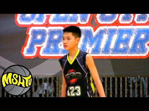 Jake Koyama is a BEAST at 2015 EBC West  Class of 2022 Basketball Prospect