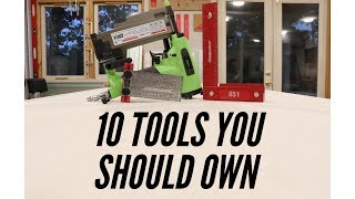 10 Tools Every Woodworker Should Own