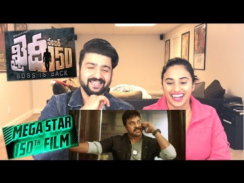 Khaidi No 150 Trailer Reaction | Mega Star Chiranjeevi | Khaidi No 150 Official Trailer