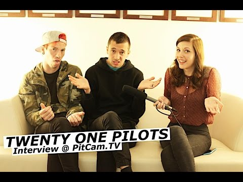 TWENTY ONE PILOTS interview with Tyler Joseph and Josh Dun | www.pitcam.tv