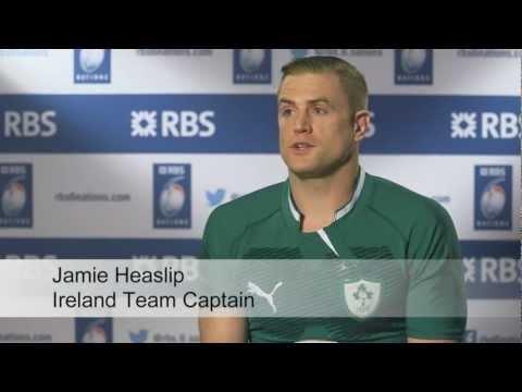 Ireland Captain Heaslip Answers Fan's Questions
