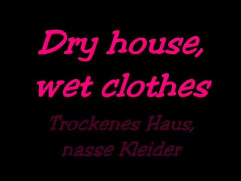 Ed Sheeran - The A team lyrics (+Deutsch übersetzt)♥