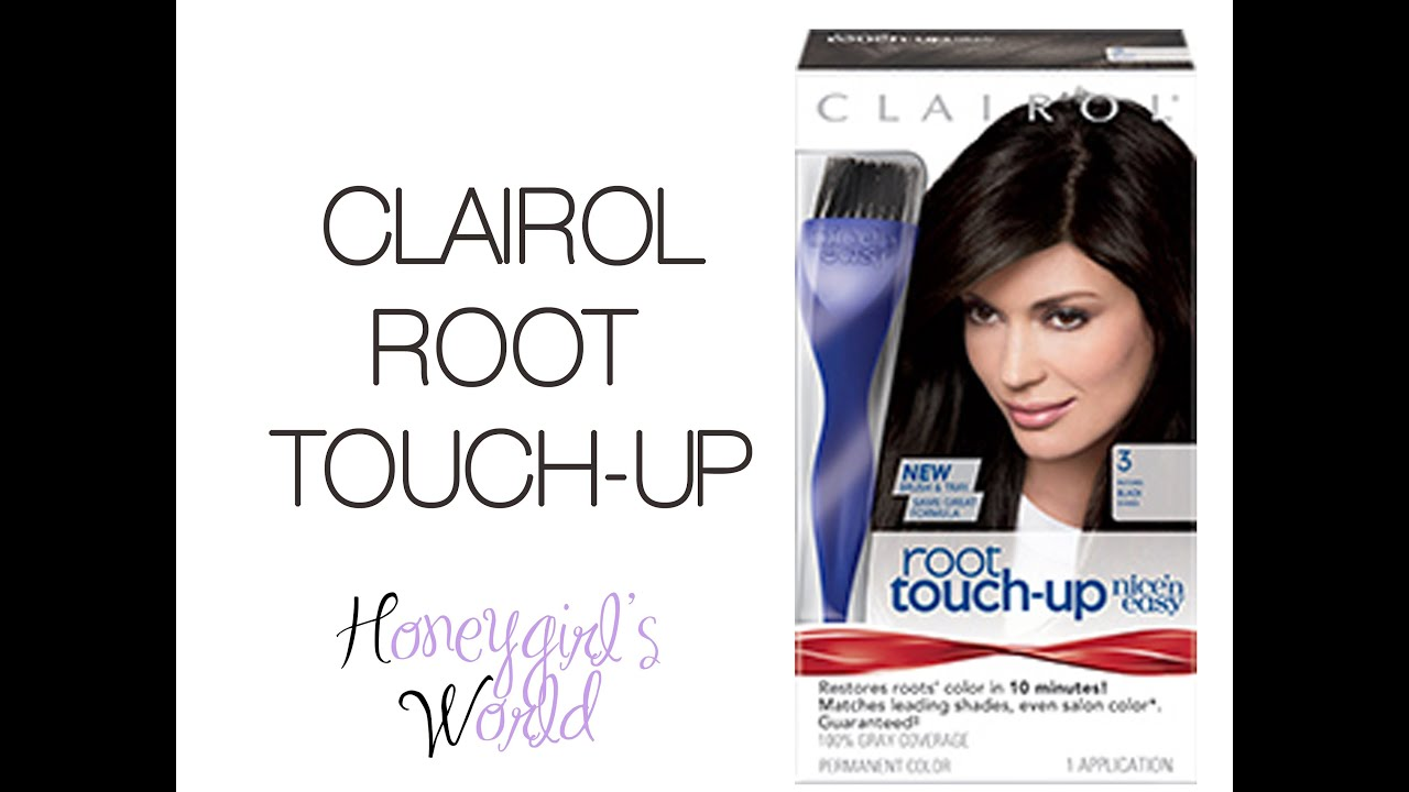 CLAIROL ROOT TOUCH-UP: Is it worth it? Does it cover your gray ...