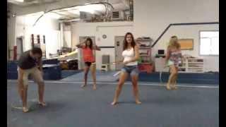 Summer Fun - Birthday in the Cheerleading Gym