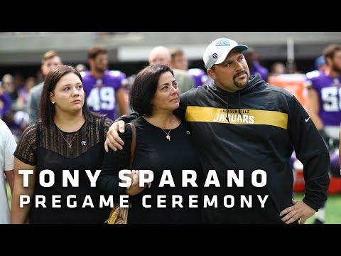 Vikings Honor Tony Sparano Prior To Saturday's Game vs. Jaguars