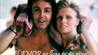 SILLY  LOVE SONGS - PAUL McCARTNEY- SUBTITULADA
