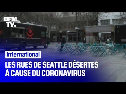 Aux États-Unis, les rues de Seattle sont désertes à cause du coronavirus