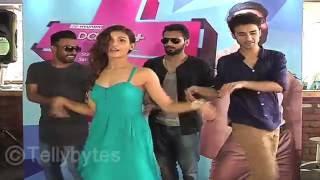 Shakti Mohan, Raghav, Punit and Dharmesh's MASTI at the launch of Dance Plus.