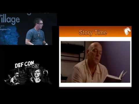 DEF CON 23 - Social Engineering Village - Jayson E. Street - Breaking in Bad