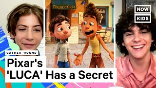 Jacob Tremblay and Jack Dylan Grazer on Disney Pixar's 'Luca'