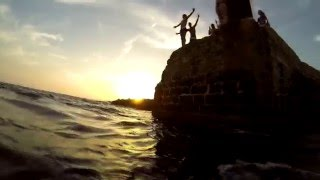 Cliff jumping, Mallorca 2014