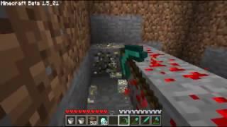 Как в игре Minecraft добыть много ресурсов).avi(Много ресурсов золото и много алмазов), 2011-04-27T15:52:31.000Z)