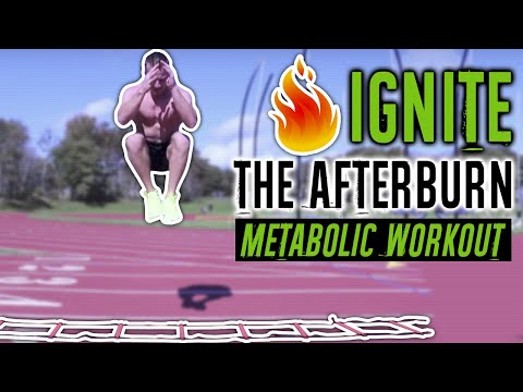 15 Minute Afterburn Effect Workout With An Agility Ladder (LOSE FAT FASTER) | LiveLeanTV