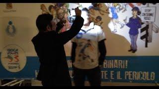 Catania  Lucchetta Mondiale  volley in Brasile 90, testimonial sport e sicurezza