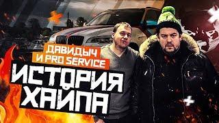 Давидыч и Про-Сервис, история хайпа.