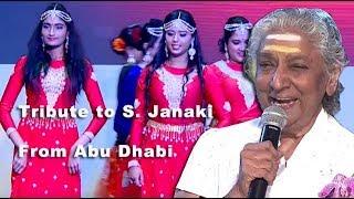 Dance Tribute To S. Janaki | The Nightingale Of South India
