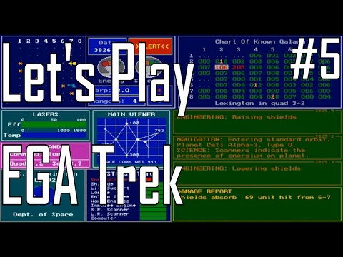 EGA Trek - What a Fight! - Let's Play ep. 5 |