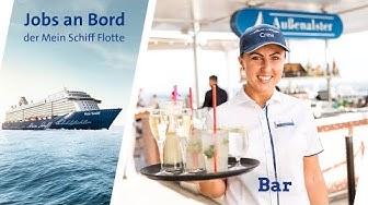 Mein Schiff – Jobs bei sea chefs im Bar Team an Bord
