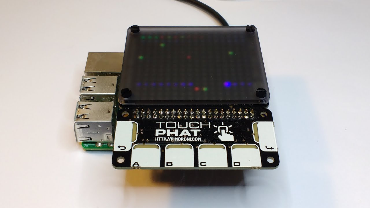 Butterfly - Using multiple HAT/pHAT on the Raspberry Pi