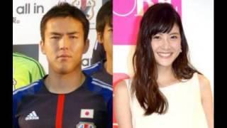 サッカー日本代表主将のMF長谷部誠(32)=フランクフルト=と、モ...