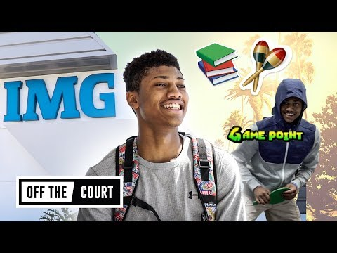 We Toured IMG Academy With The FUNNIEST PLAYER In The Nation! Noah Farrakhan Talks JELLYFAM BOUNCE!
