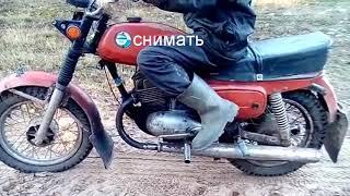 Уроки езды на мотоцикле восход 3м
