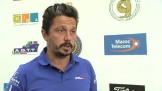 Trophée Hassan II (T1) : Les réactions d'Adrien Saddier et Michaël Lorenzo-Vera