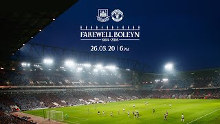 LIVE: WEST HAM UNITED VS MANCHESTER UNITED | LAST EVER MATCH AT THE BOLEYN