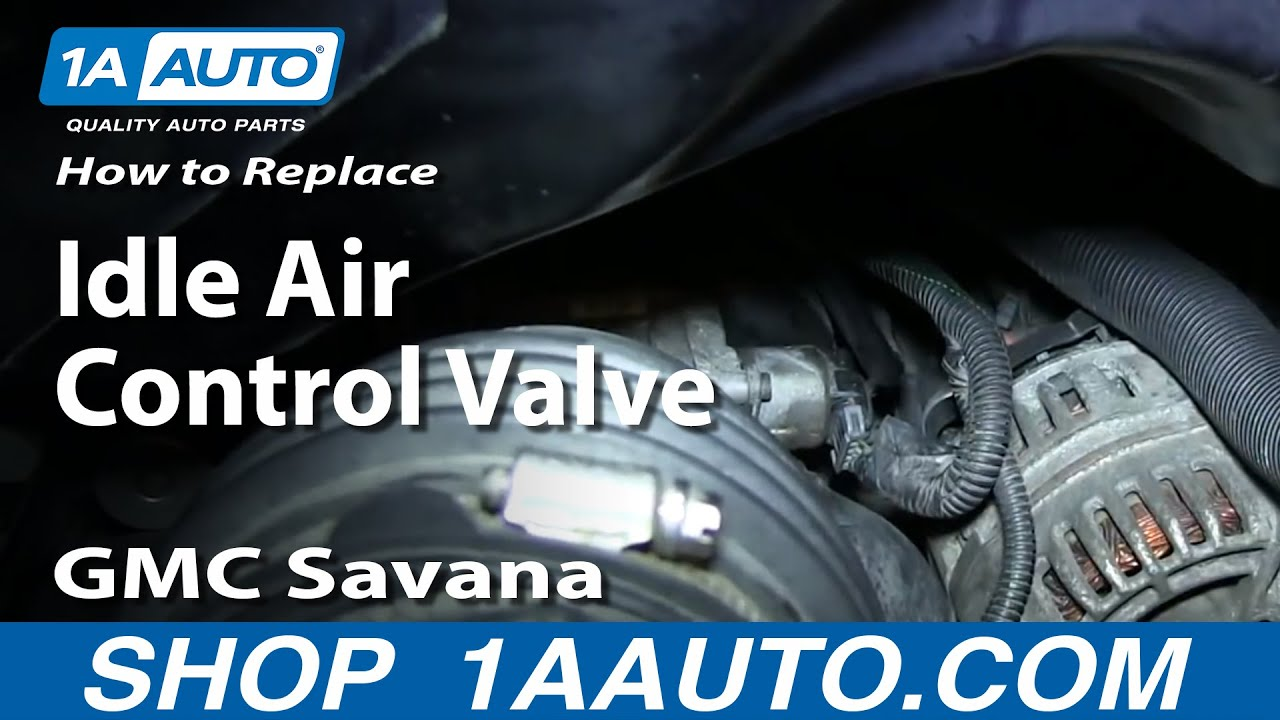 How To Install Replace Idle Air Control Valve Chevy Express Gmc 2010 Malibu Wiring Diagram Savana 60l
