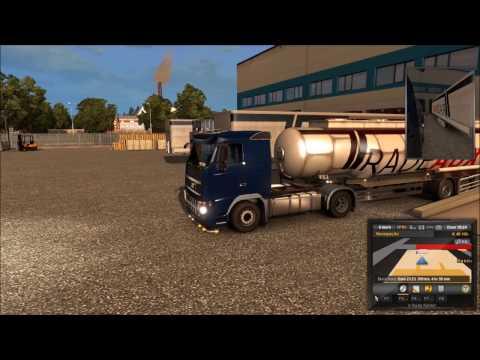 Euro Truck Simulator 2   Hannover para Erfurt