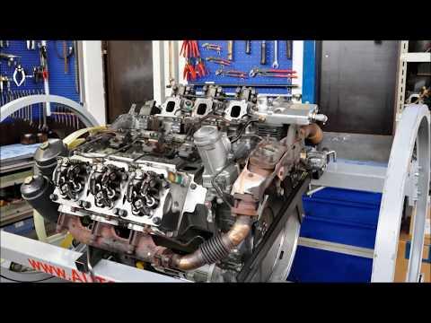 LKW Mercedes Benz Actros OM501LA Euro 5 (MP2/MP3) Motor Aufbau
