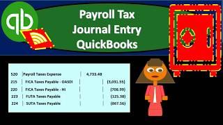 QuickBooks Online 2019-Payroll Tax Journal Entry QuickBooks