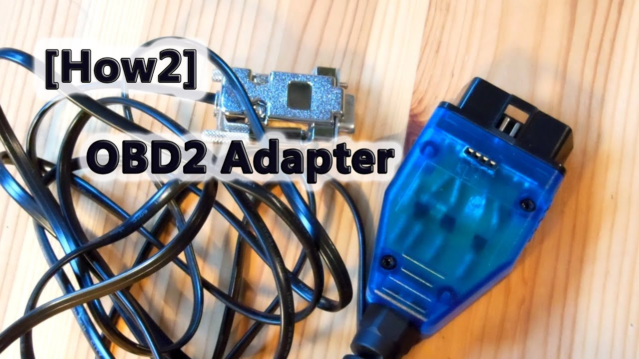 How2] OBD2 Adapter - selbst gebaut! - YouTube