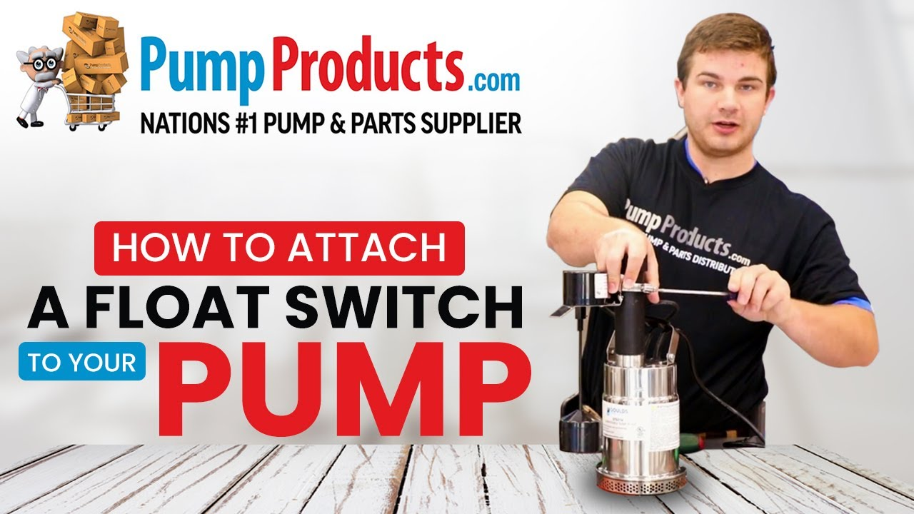 how to attach a float switch to your pump [ 1280 x 720 Pixel ]
