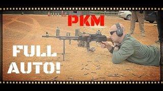 PKM General Purpose Machine Gun 7.62x54R Full Auto! (HD)