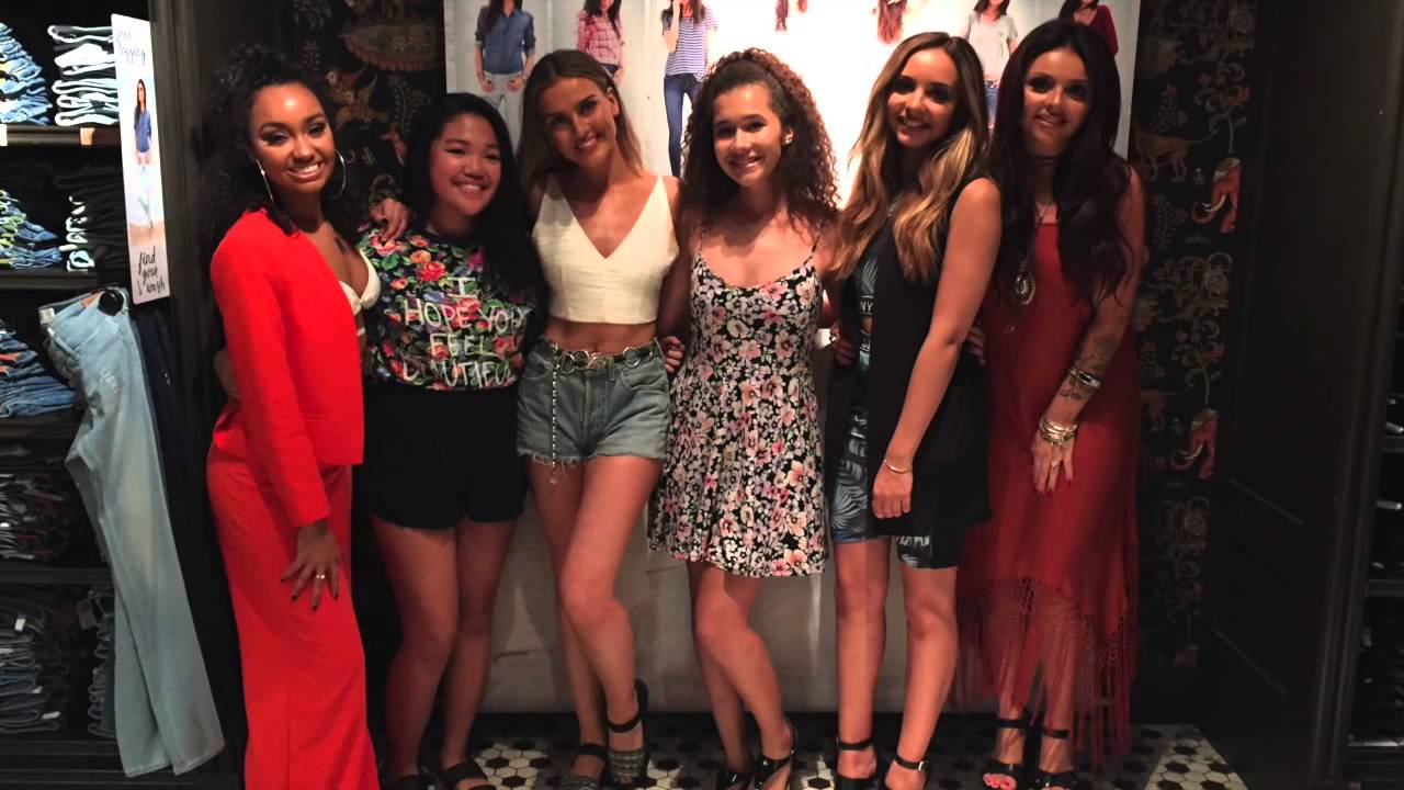 Meeting Little Mix August 2015 Youtube