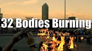 Slow Motion Fire Stunt | Cape Town World Record #32BODYBURN