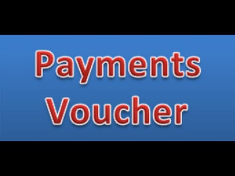 payment Voucher in MS.Excelss Transaction Payment voucher