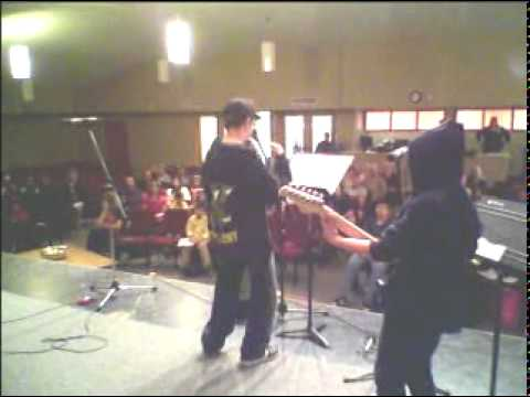 Rock Shop Students Winnipeg Manitoba  Whyte Ridge Music Centre Lessons Rock Band Showcase