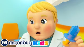 Going to The Doctor Song - Staying Healthy   Kids Videos   Moonbug Kids After School