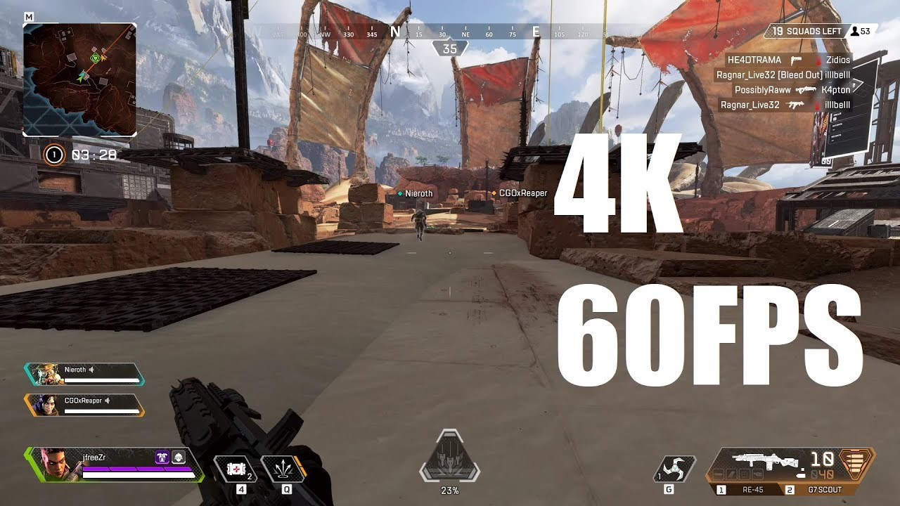 Apex Legends - 4K 60FPS Gaming - EVGA GeForce RTX 2080 Ti FTW3 ULTRA