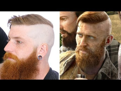 Far Cry 5 Jacob Seed Undercut Video Game Character Hair Tutorial
