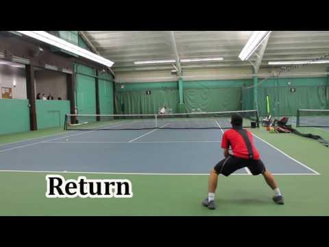 Sasha Pachnev - NCAA Division 1 Tennis Recruiting Video