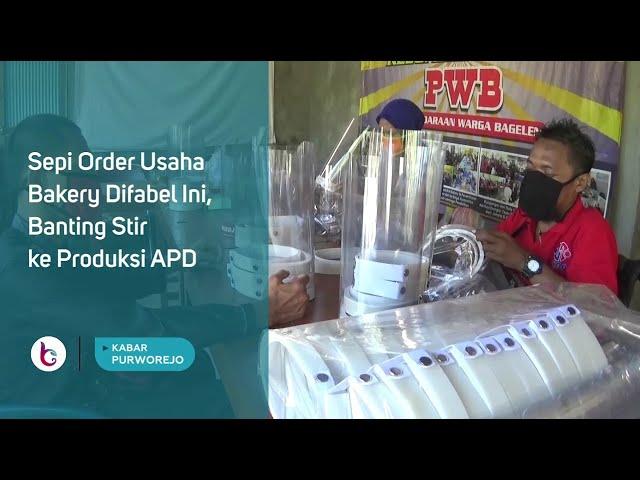 Sepi Order Usaha Bakery Difabel Ini, Banting Stir ke Produksi APD