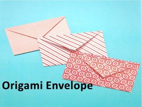 How to make an Origami Envelope